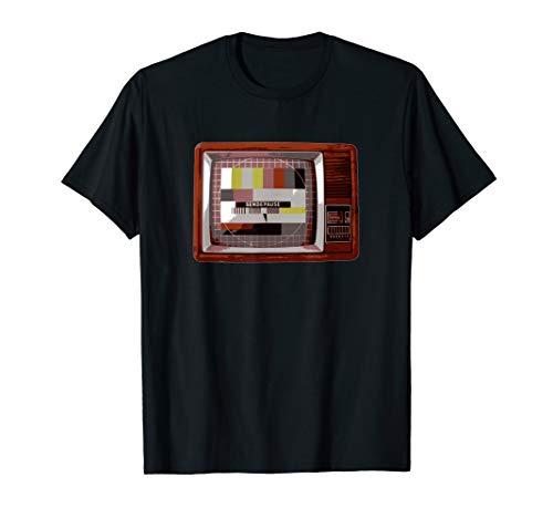 Sendepause Fernseher - lustige DDR Testbild Sendeschluss BRD T-Shirt