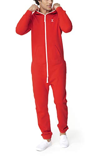 OnePiece Damen Jumpsuit Unisex Original 2.0, Rot (Red) - 6