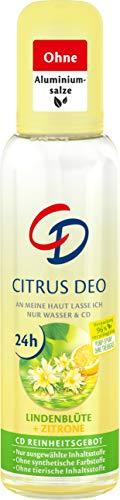 CD DEO ZERSTAEUBER CITRUS, Deodorant ohne Aluminiumsalze, langanhaltender Schutz für 24 h, 75 ml