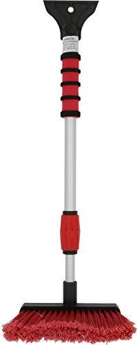 NIGRIN 6187 Eisschaber / Schneebesen, teleskopierbar (bis zu 66cm lang)
