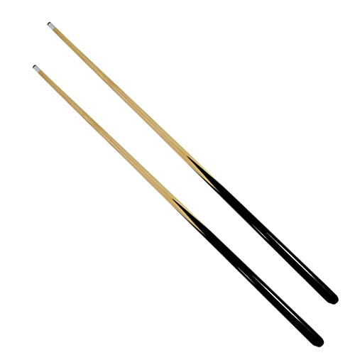 Lemon home 36  Shorty Cues Children s Cues Kids Billiard House Cue Stick - Set of 2, Shorty Cues for Kids