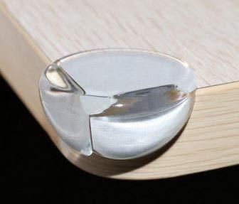 Kantenschutz und Eckenschutz für Kinder, Baby, Ecken- und Kantenschutz für Tisch und Möbel Ecken, Transparent (12 Stück)