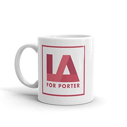 The L Word: Generation Q LA pour Tasse blanche Porter -
