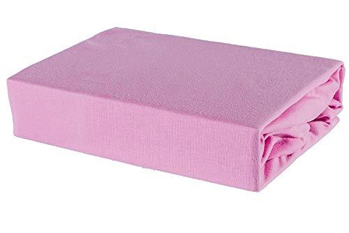 Junior Joy - Fiche Lit Bébé Lit Équipée, 100% Coton Taille: 70 X140Cm Made In Cee (Rose) [Habillement] - Référence : 6229Ap