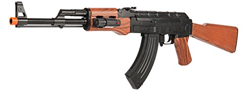 UKARMS AK-47 Spring Powered Airsoft Rifle Gun FPS 245