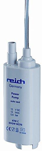 Reich Tauchpumpe 12 l/min 0,6 bar Schnellentlüftung lose