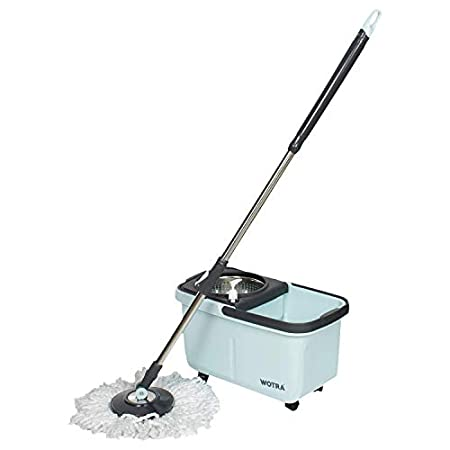 Wotra 360° Wheel Bucket Spin Mop