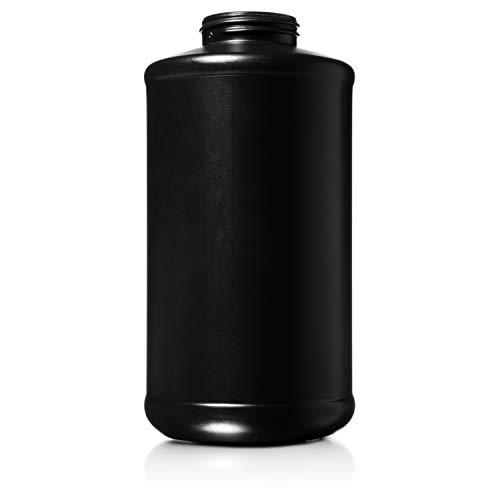 Second Skin Spray Gun Bottle for Liquid Sound Deadening/Undercoating/Bedliner/Rustproofing - Reusable Empty Plastic Schutz Bottle (1 Quart)