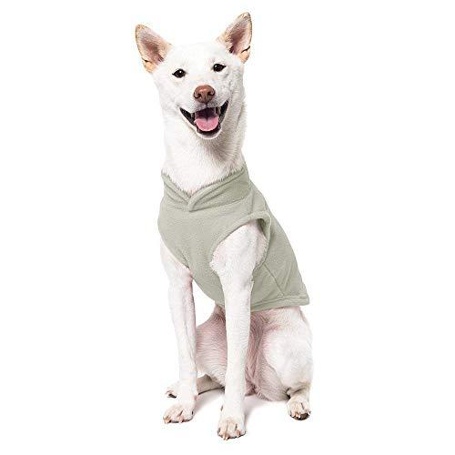 Ducomi PolarDog - Hundeweste aus weichem warmem Fleece für kleine und mittelgroße Hunde, für kalte Wintertage - leicht zu tragen - eingebetteter Leinenhaken.