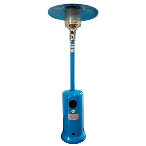 JINBAO Heizung Vertikaler Regenschirm Gasheizofen Energiesparend und Umweltfreundlich Outdoor Blue 88,11 * 32,09 Zoll