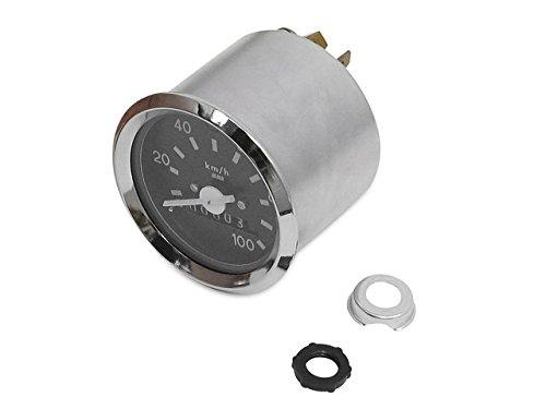 Tacho Ø60 mit Blinkerkontrolle (bis 100 km/h) (Chromring)* passend für S51, S70, S53, S83