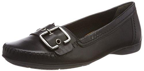 Gabor Shoes Damen Comfort Sport Geschlossene Ballerinas, Schwarz (Schwarz), 37 EU