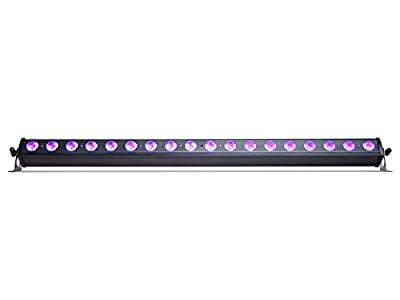 Marq UV BAT 18 Professional 18 LED Strip Stage Effect Party Lighting for Discos, Halloween, Christmas, Weddings Events