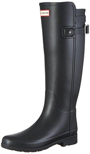 Hunter W ORG Tall BT Refined B Strap, Botas de Agua para Mujer, Schwarz (Black), 37 EU