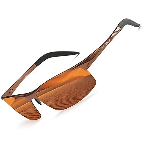 MOORAY Mens Sports Polarized Sunglasses...