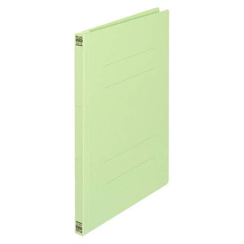 プラス 間伐材フラットファイル A4縦 グリーン No.021K 【まとめ買い10冊セット】