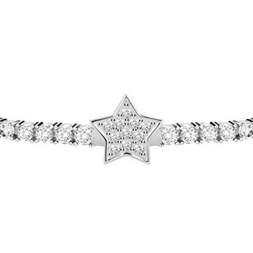 Morellato Bracciale da donna, Collezione Tesori, in argento 925? e zirconi - SAIW84
