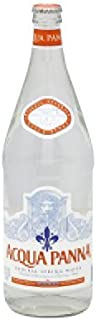 Aqua Panna Spring Water, 1 Liter (12 Glass Bottles)