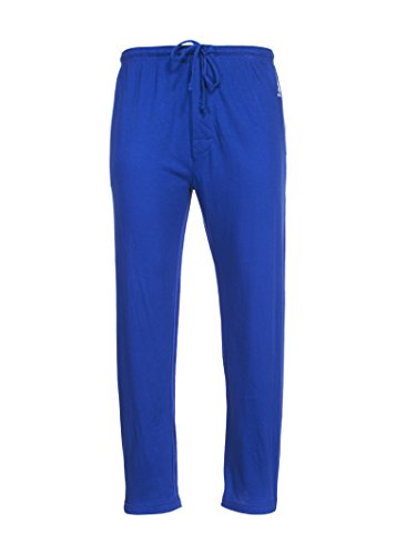 U.S. Polo Assn. Men's Solid Knit Sleep Pant (Galaxy Blue, Medium)