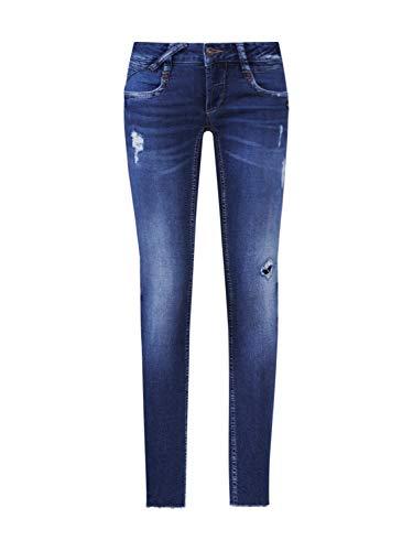 Gang Damen Jeans NENA - Montana sweatie Blue Denim 28