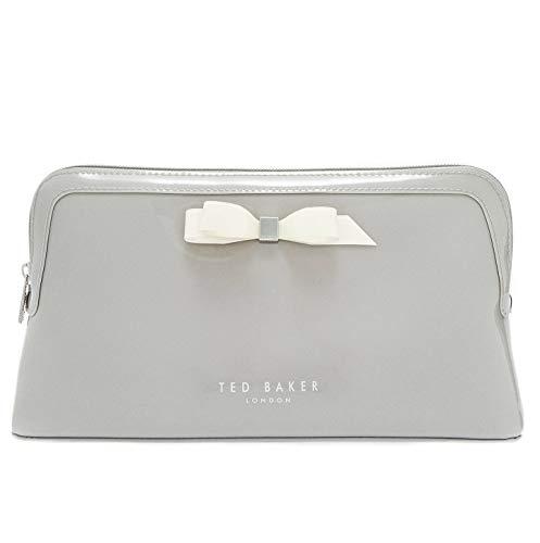 Ted Baker Womens 'CAFFARAS' Wash Bag Cosmetics Bag Toiletry Bag Size Large Grey