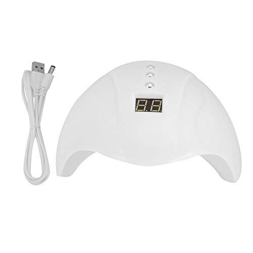 Brrnoo 36W LED UV Nail Lamp Gel Secador de Esmalte de uñas Máquina de Secado rápido Nail Art Secadoras de uñas para Gel y Esmalte Regular(02)