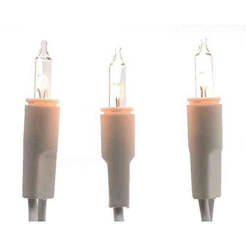LED Mini Lichterkette 20 LED weisses Kabel warmes Licht Ringlichterkette Retro LED Innen Lichterkette 450 cm