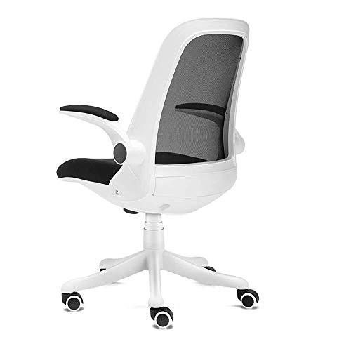 Faus Koco Silla giratoria de juegos juegos for sillas de respaldo alto Silla de ordenador juegos Ejecutivo, ergonómico silla de oficina con acolchado reposapiés y reposabrazos, asiento ajustable Altur
