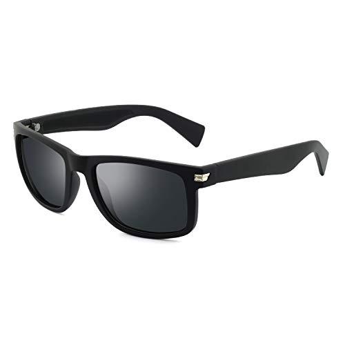Polarized Sunglasses for Men Women Rectangular Acetate Unbreakable Driving Sun Glasses For Men/Women...