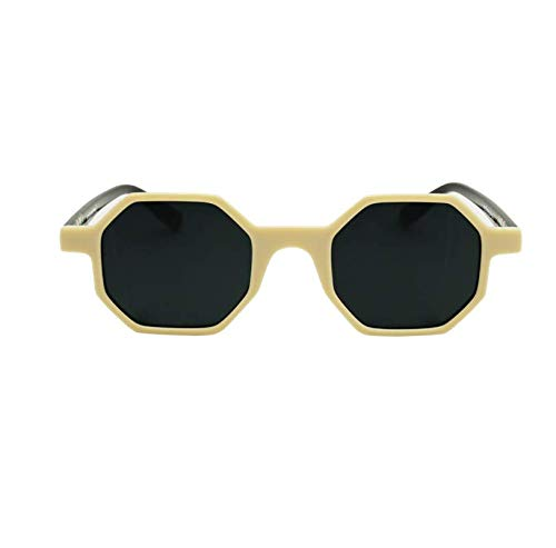 Goodbye, Rita. - Gafas de sol Ephemeral Unisex - Beige - Lente ahumada - Modelo Honeycomb Double