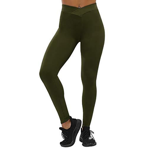 Leggings Casuales De MujerNuevas Leggings De Mujer Casual Sólidos para Mujer Leggin Push Up Pantalones Elásticos De Fitn