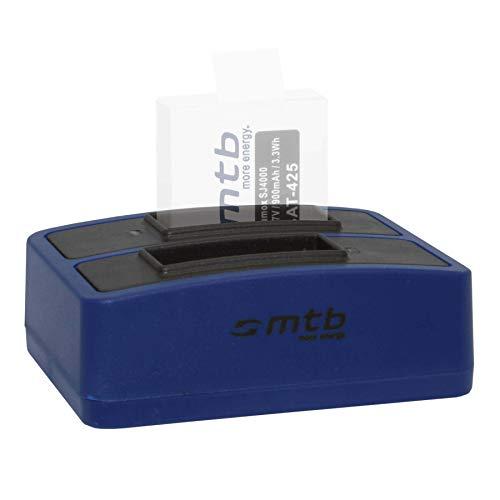 Cargador Doble (USB) para cámara Deportiva Qumox SJ5000(+), SJ5000X, SJ4000(+) / SJCam M10(+), X1000. - Contiene Cable Micro USB