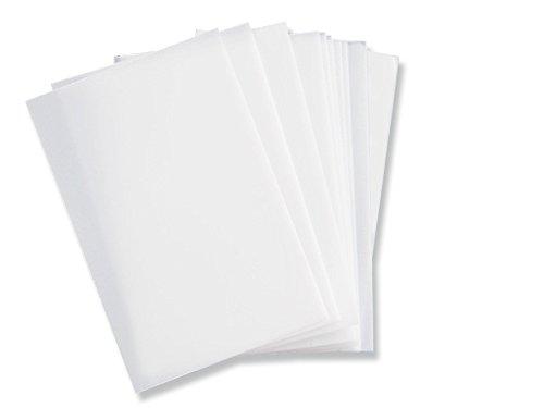 Sizzix Schablonenfolie 10 Stk (A4), Plastik, Mehrfarbig, 34 x 23.000000000000004 x 0.5 cm