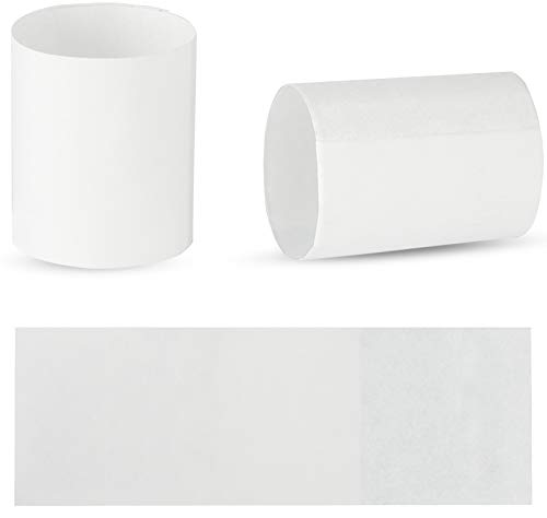 Rupert and Jeoffrey's Trading Co. Paper Napkin Rings - Self-Adhering (500, White)