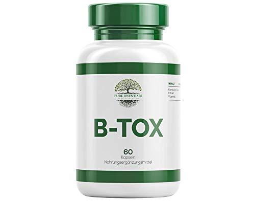 Pure Essentials BTOXX - Abnehmen & Entschlacken 60 Kapseln für eine normale Darmflora mit Vitamin E
