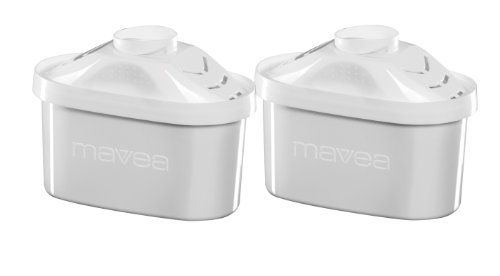 Mavea Maxtra 2-Pack Replacement Filter for Mavea Water Filtration Pitcher