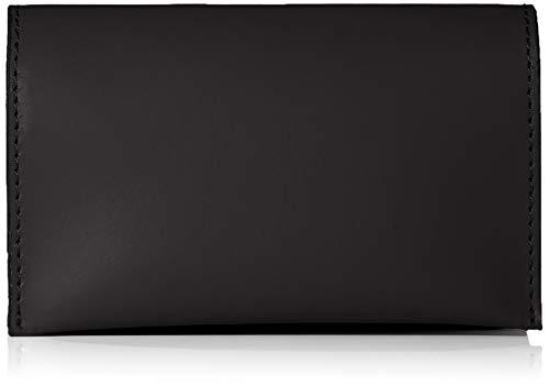 PIECES Damen Pchilal Leather Purse Geldbörse, Schwarz (Black), 2x7x11,5 cm
