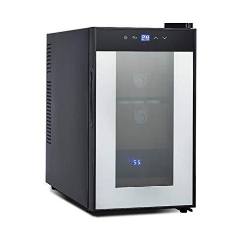 BUDBYU Dispositivo di Raffreddamento e humidor, Mini Armadio di Controllo dell'umidità, climatizzato con Riscaldamento e Raffreddamento per Bar o Ufficio a casa