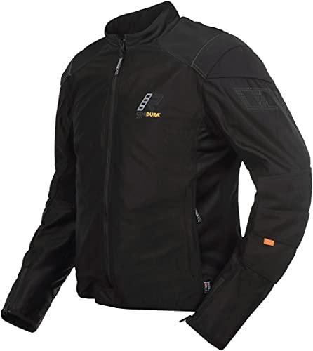 Rukka StretchAir Motorrad Textiljacke Schwarz/Grau 52