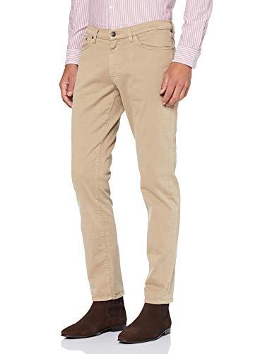 GANT Slim Desert Jeans Pantalón de Vestir, Dry Sand, 36W x 32L para Hombre