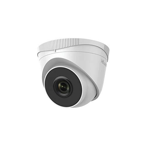 HiLook by Hikvision IPC-T221H - Cámara de Red IP PoE con Lente de 4 mm, visión Nocturna de 30 m, Color Blanco