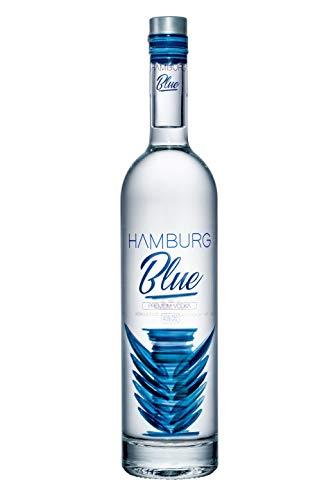 Hamburg Blue Original • Premium Vodka • 6fach destilliert • Bernstein filtriert • Sehr mild und einzigartig im Geschmack • Pur genießbar (1 x 0.7 l) • 40%