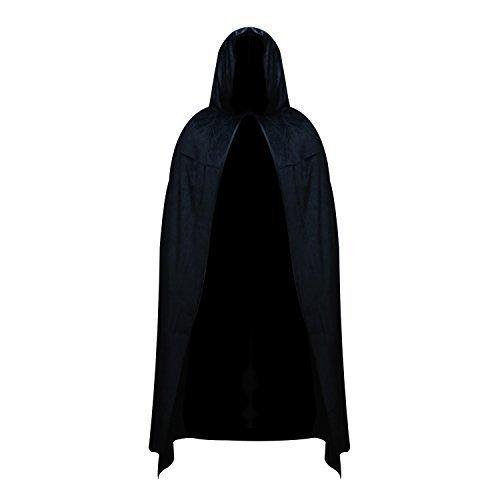 Robelli Unisex Value Polyester Halloween Cape - Black