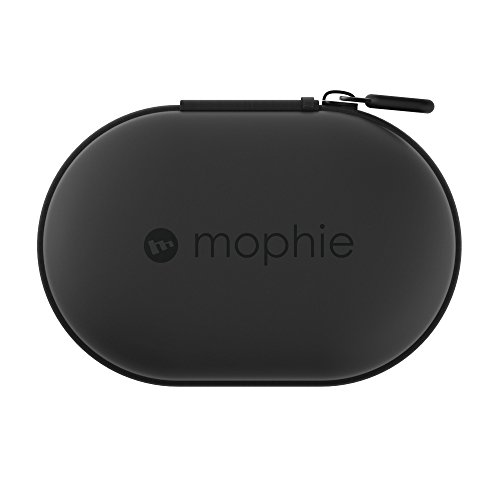 mophie Power Capsule External Battery Charger for Fitbit Flex, Beats by Dre, JBL Wireless Earbuds - Black