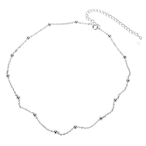 Collar inofensivo Collar de cadena Platino, para uso diario