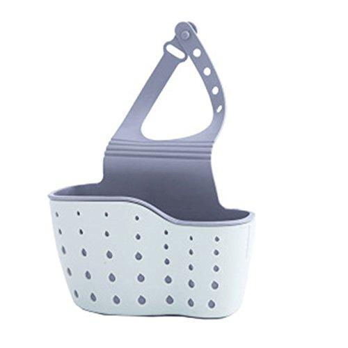 Organizador de fregadero Feli804Bruce, organizador de cocina, soporte de drenaje de cocina, esponja de almacenamiento, organizador de ropa, jabón, estante, escurridor, fregadero de cocina, cesta colgante talla única verde