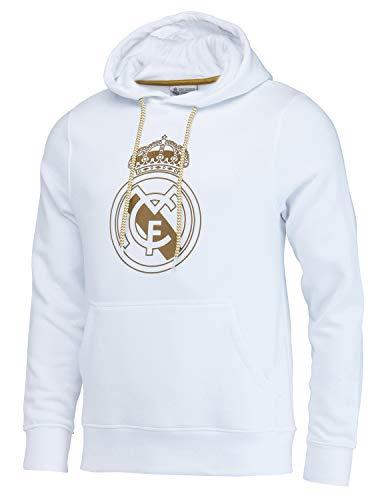 Real Madrid Sudadera con Capucha Colección Oficial - Hombre - Talla XXL