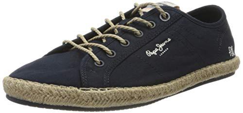 Zapatillas de Lona Pepe Jeans PMS 10285 Azules - Talla: 40 genero: Hombre
