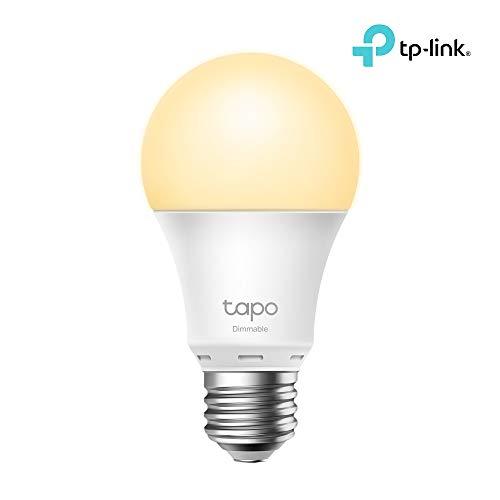 TP-Link - Bombilla Inteligente Wi-Fi, no Requiere Hub, Configuración Fácil, Funciona con Alexa y Google Home, Tapo L510E(EU)