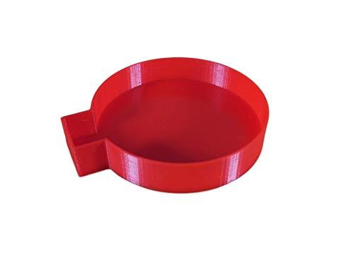 SAXONYPLASTIC Deckel Ersatzabdeckung für LEIFHEIT Bodendübel Bodenhülse für Wäschespinne